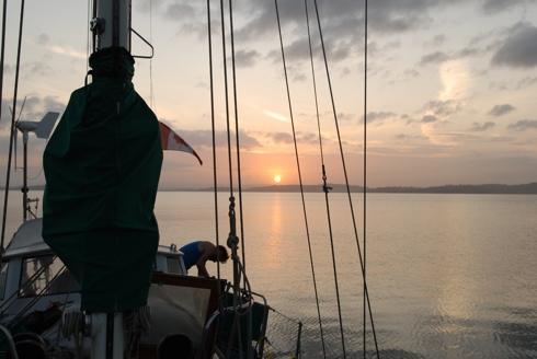 Sunrise on Gatun Lake
