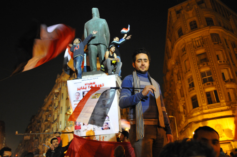 Celebrating a revolution in Egypt