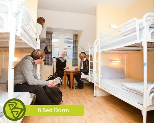 Barnacles Hostel Galway - 8-bed dorm