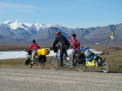 cycling the dalton highway in alaska with kids