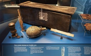 Sixteenth-century artifacts from the Mary Rose