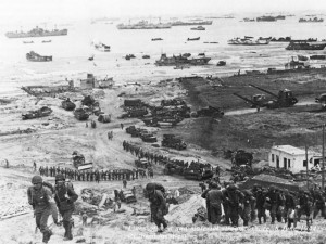 D-Day in Normandy--June 6, 1944