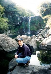 Rolf in Jeju, Korea, 1997.