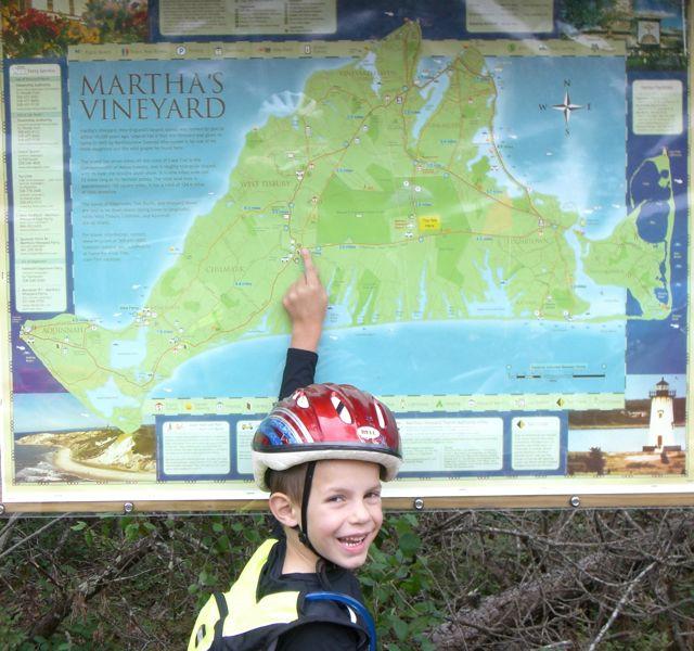 Cycling Martha's Vineyard With Kids