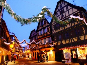 Christmas in Alsace.