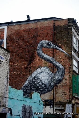 Huge street art
