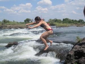 Devil's Pool, Victoria Falls, Zambia, Africa