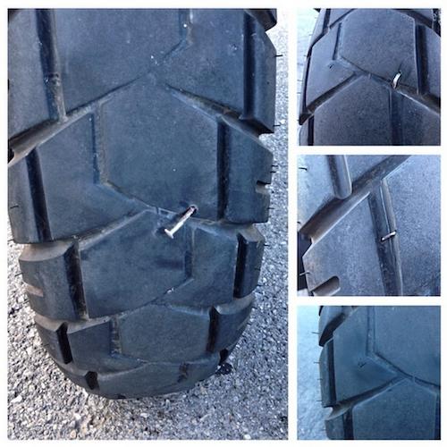 My poor tire