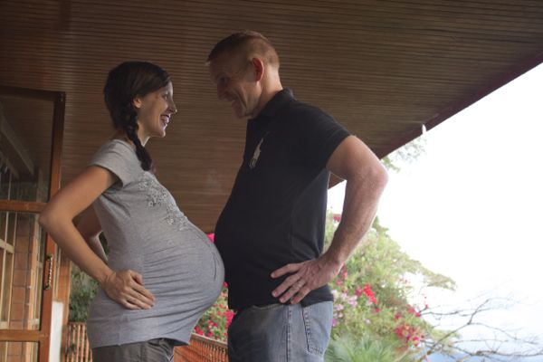 Greg Rachel Pregnant Costa Rica