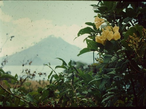 My Dad's photo of Lago de Atitlan, 1973
