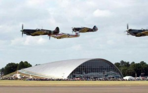 Historic air show at RAF Duxford
