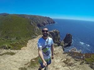 Jarryd Salem Portugal Cabo Da Roca Vagabonding