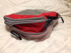 REI's expandable packing cube