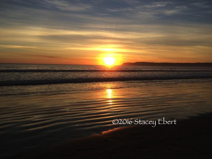 Sunset for Travel Mindset